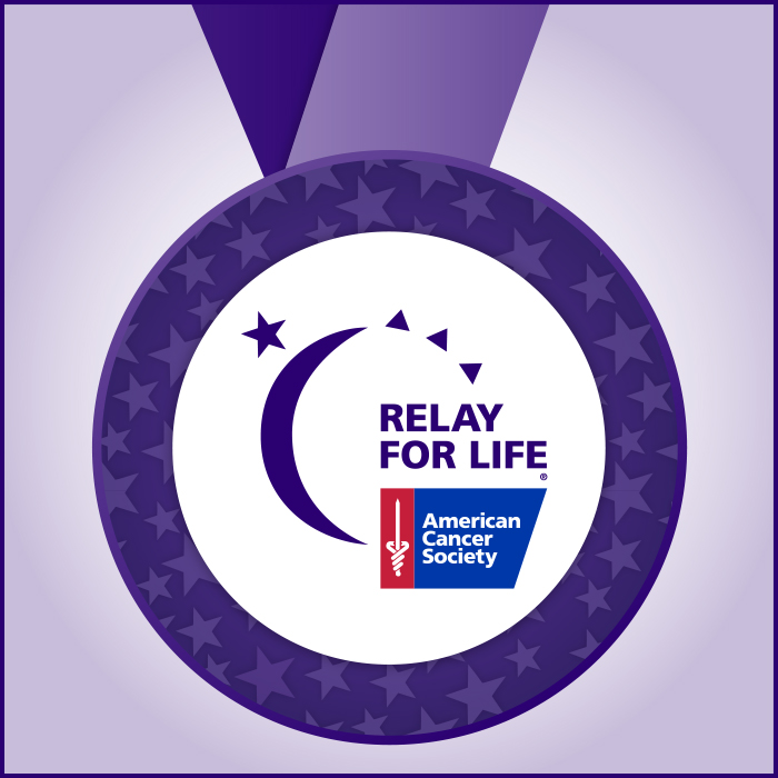 PurpleMedal relay for life