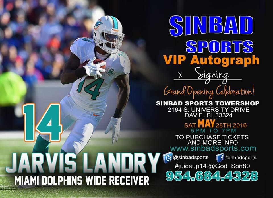 Jarvis Landry Sinbad Sports